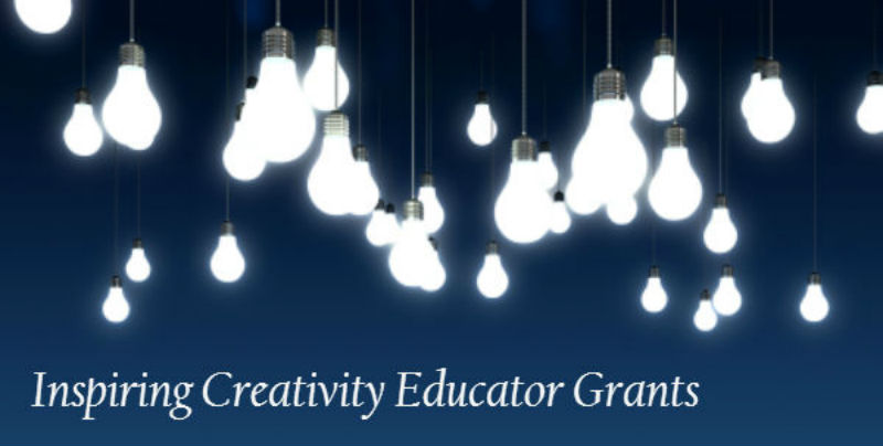 Inspiring Creativity Educator Grants